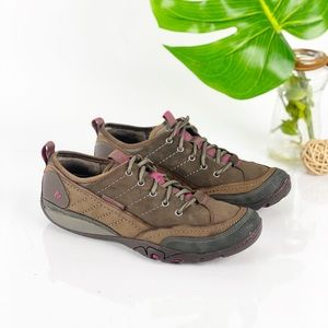 Merrell Mimosa Lace Comfort Walking Hiking Leather
